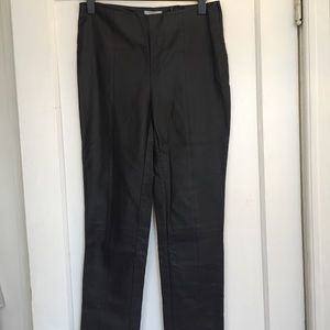 NWT H+M stretch faux black leather pants Size 10NWT for sale